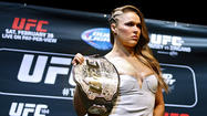 Photo Gallery: UFC champion Ronda Rousey ready to defend her title vs. Cat Zingano