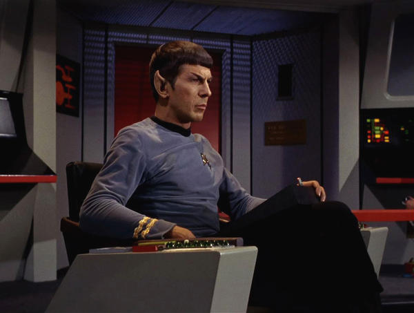Leonard Nimoy as Mr. Spock on Star Trek; John Chambers created the character's famous ears. (Paramount Pictures)
