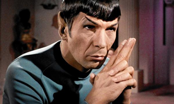 "Leonard Nimoy as Mr. Spock in the ""Star Trek"" episode ""Plato's Stepchildren."" (CBS / Getty Images)"