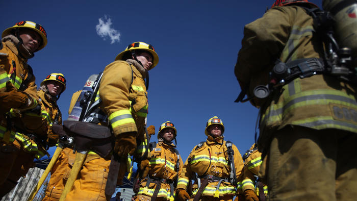 LAFD recruits