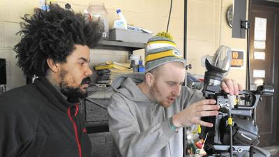 Local filmmaker returns home for short film