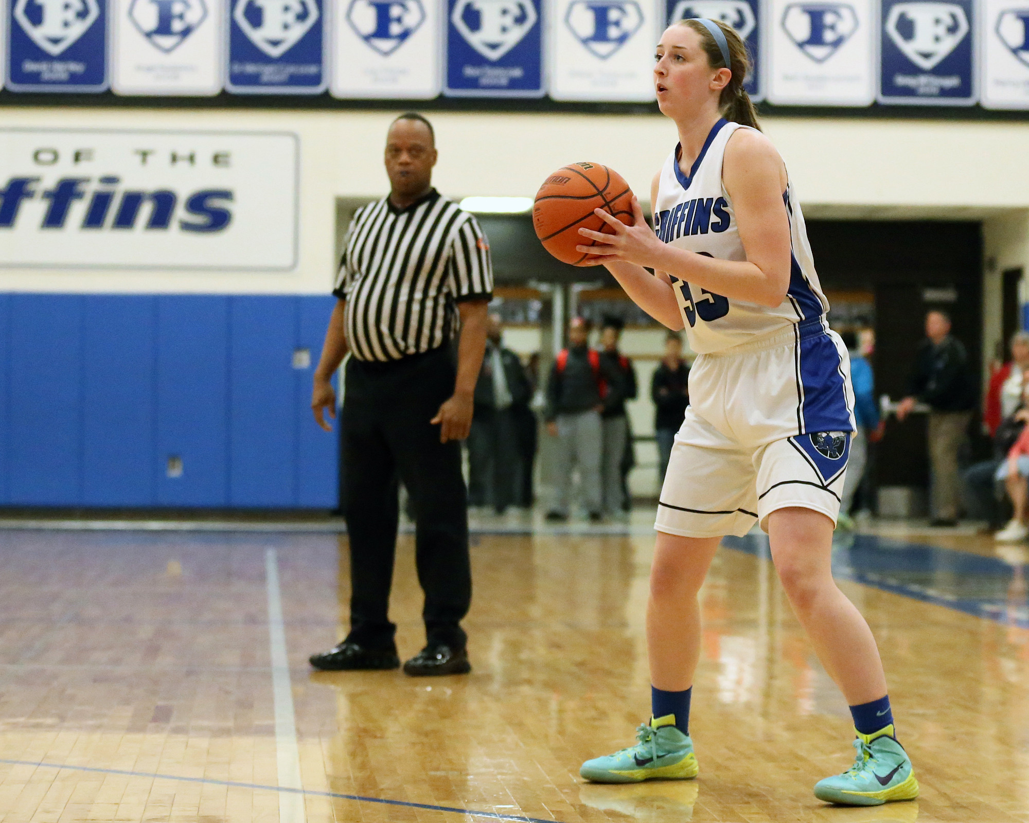 Girls Basketball Lincoln Way East S Claire Mcmahon