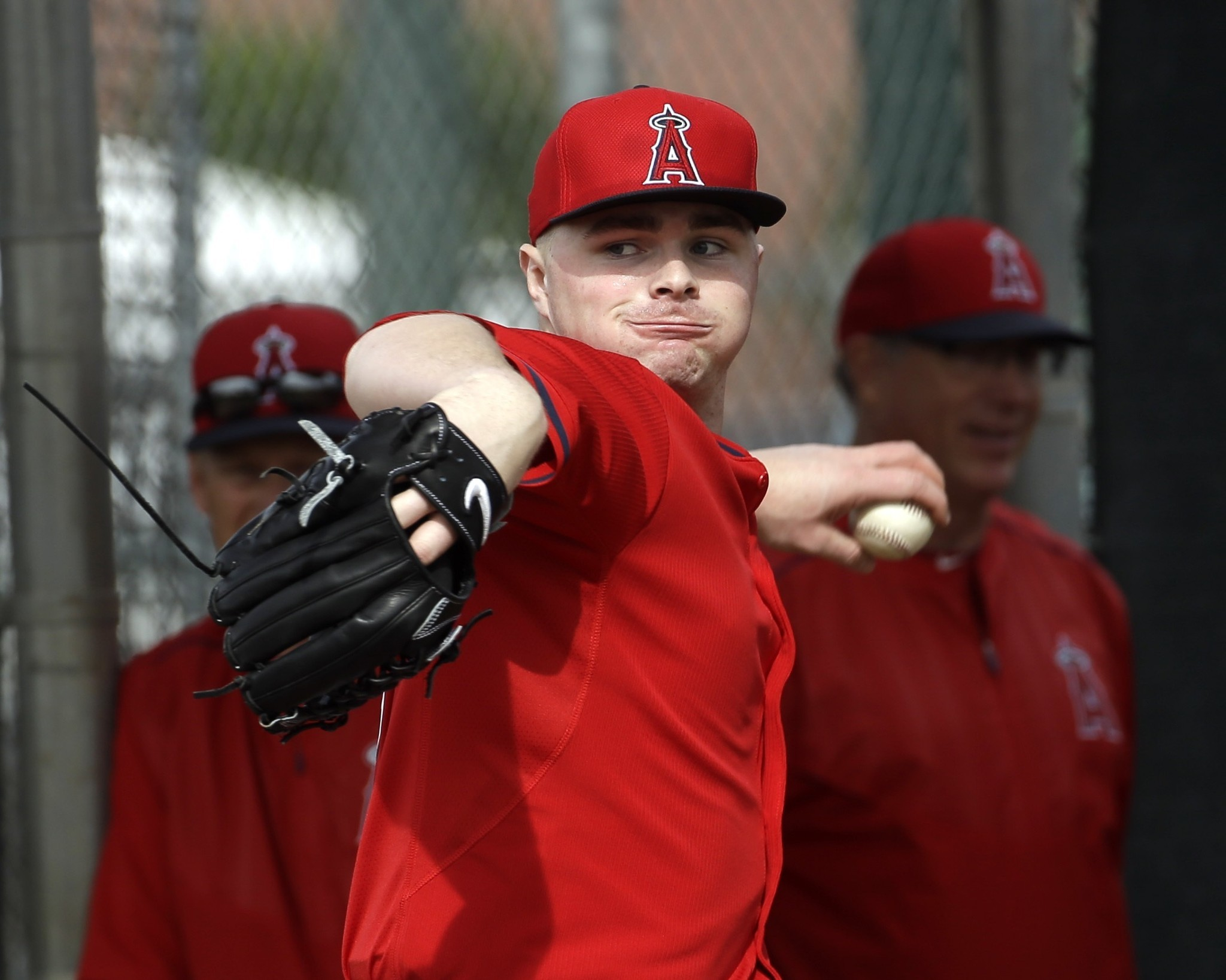 Angels' Sean Newcomb using spring training as a time to learn