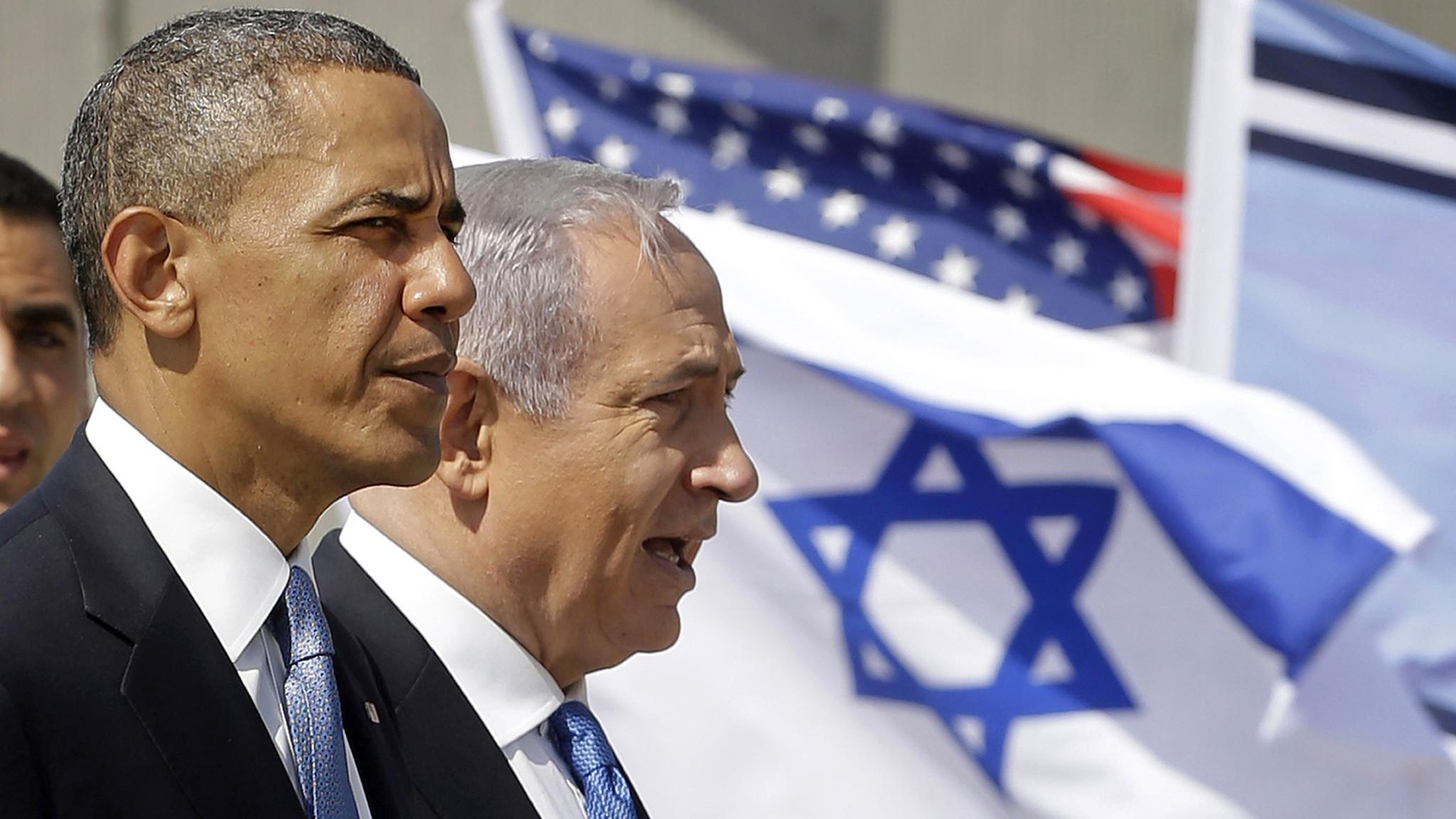 Image result for obama netanyahu
