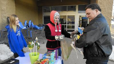 Carroll carves its own path during Girl Scout Cookie season
