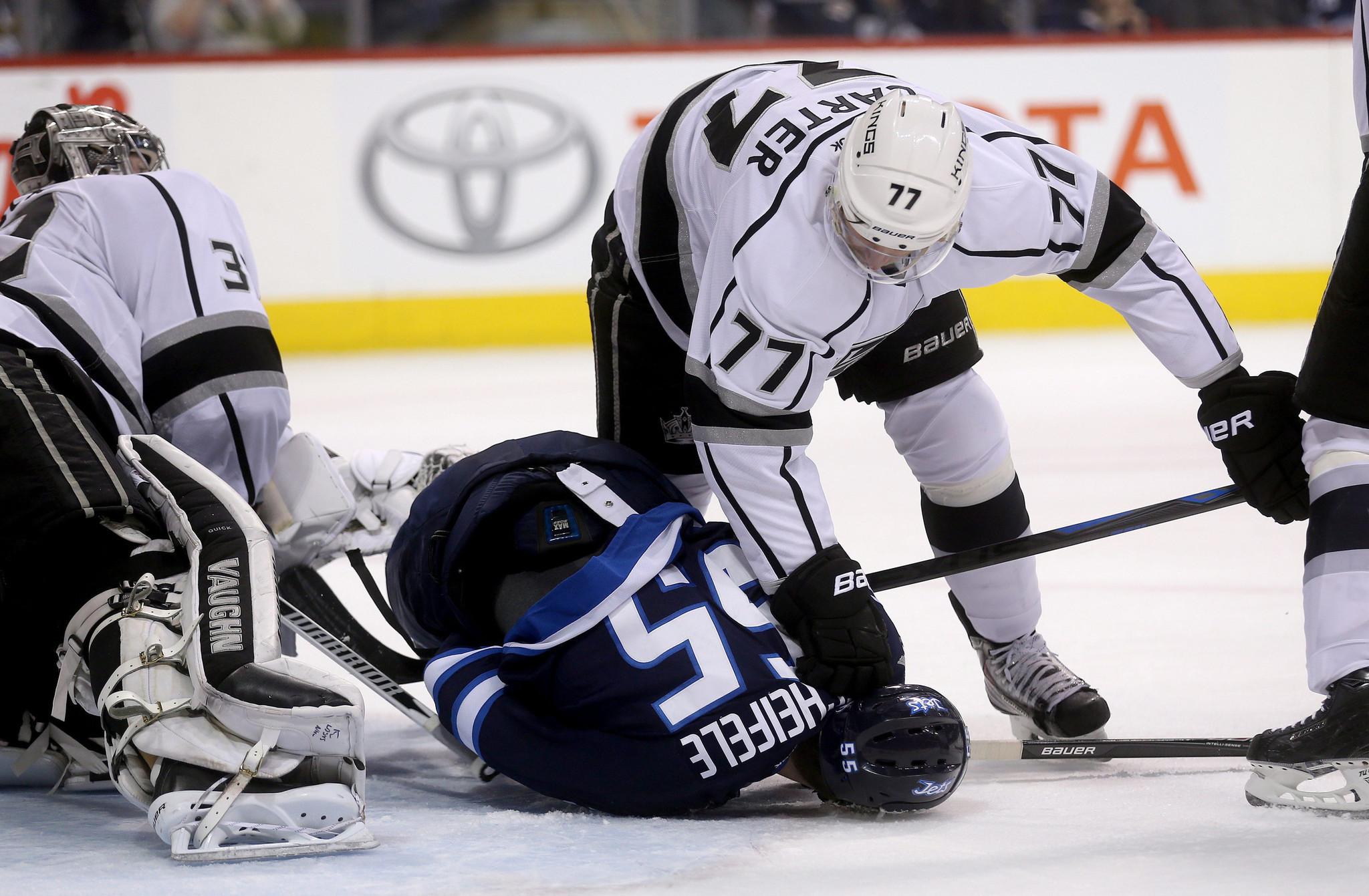 Kings Lose Third Consecutive Game, 5-2 To Winnipeg