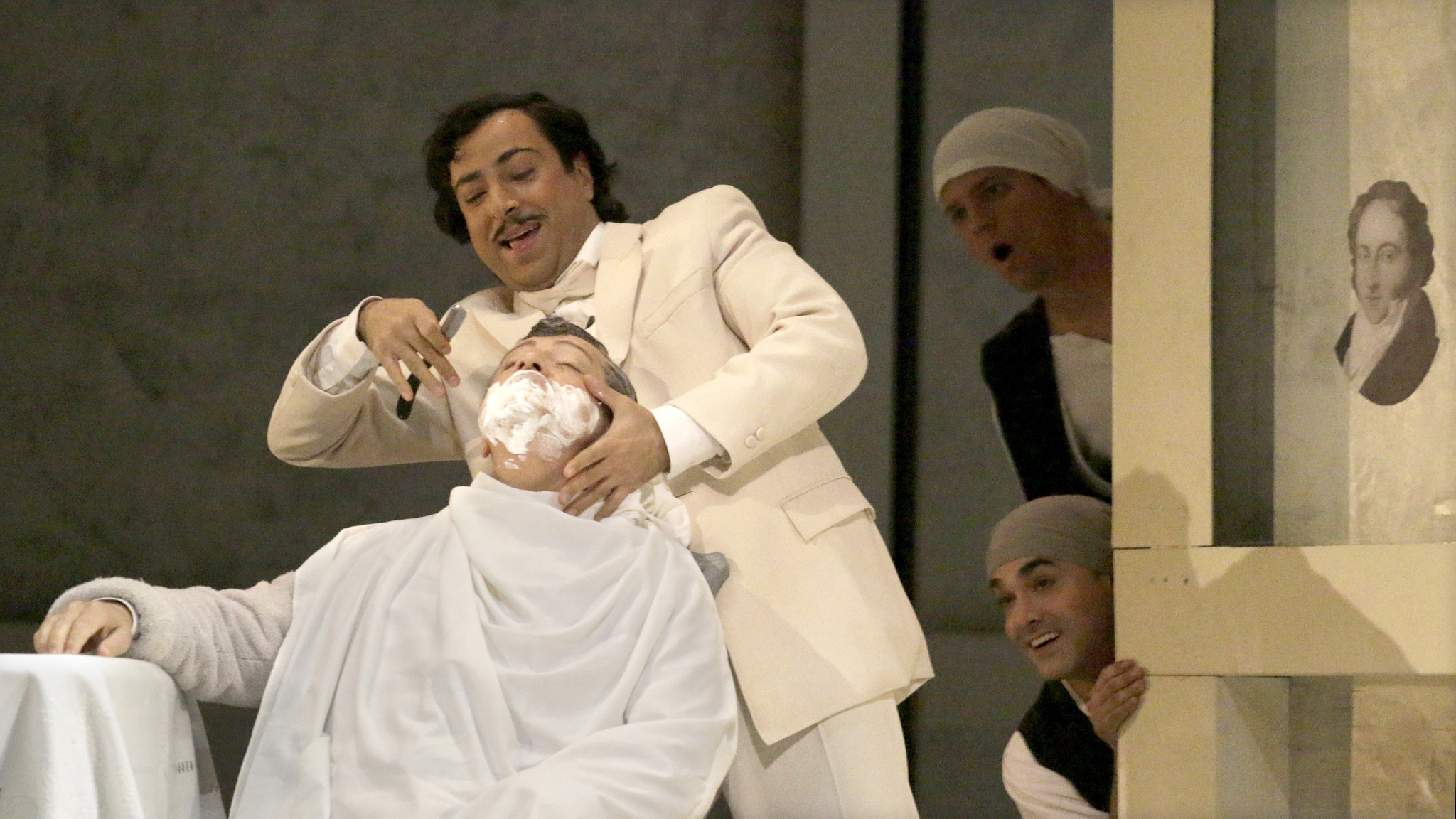Review: Singing best part of L.A. Operas comic Barber of Seville ...