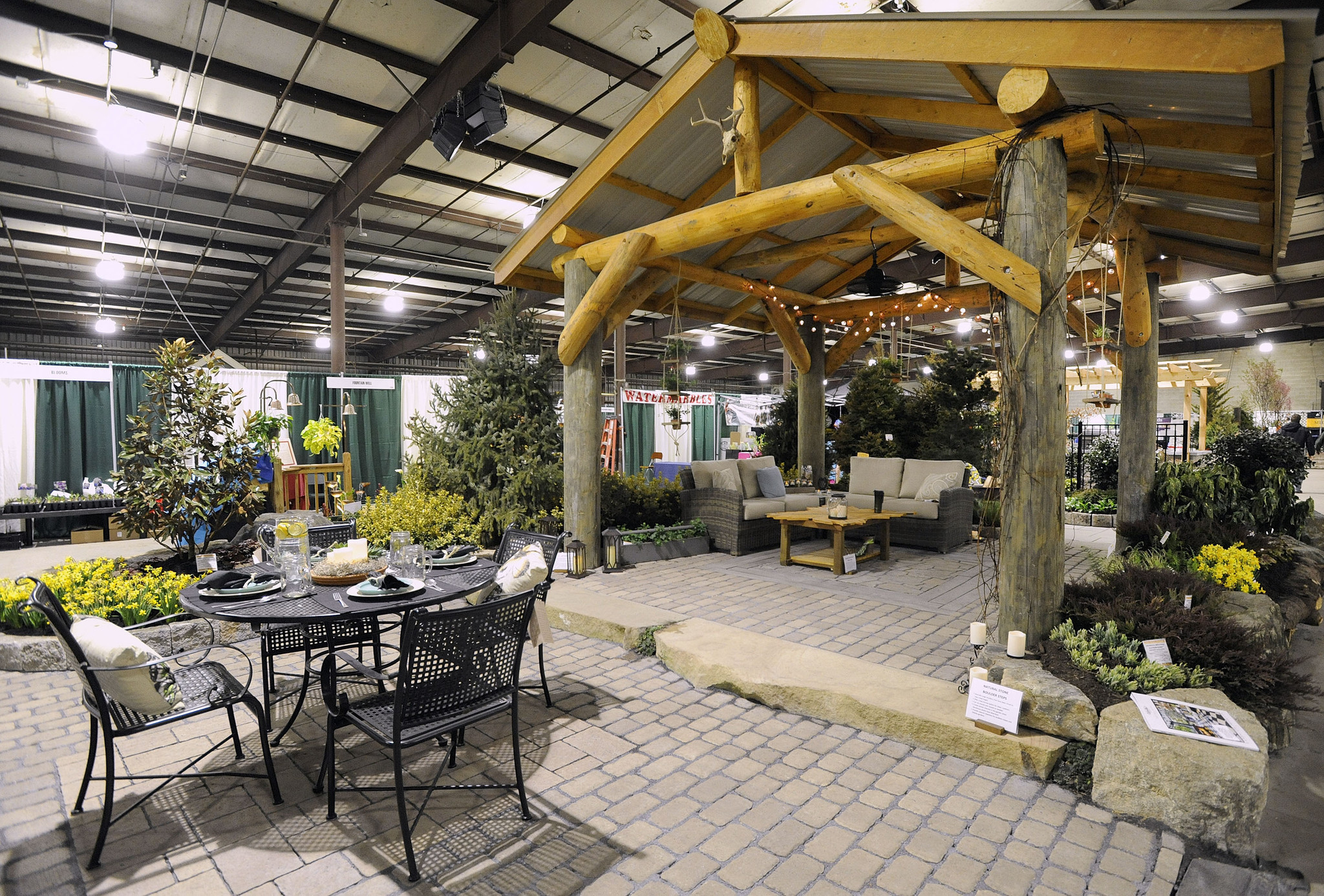 Carroll landscaping 39 s award winning garden at the maryland Md home and garden show
