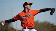 Orioles right-hander Ubaldo Jimenez yanked early, allows six runs in spring training debut