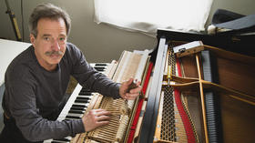 Greg Hudak keeps Baltimore's pianos sounding right
