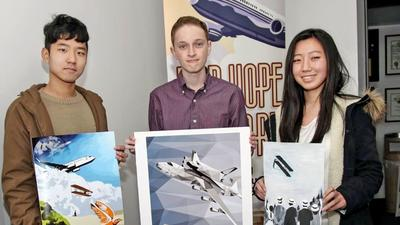 Airport tower to display 'awesome' artwork by area students