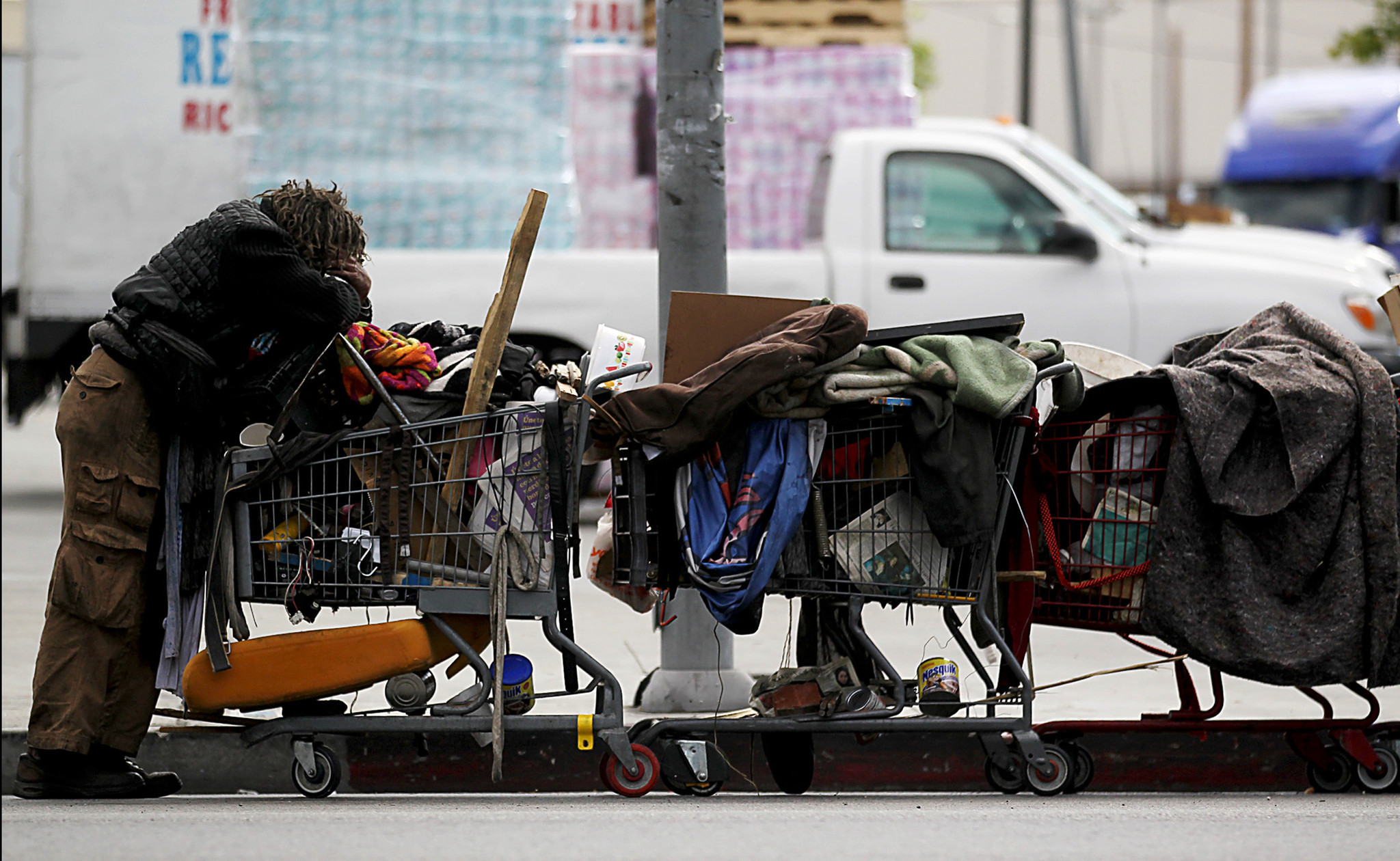L a proves again that law enforcement won 39 t solve for Homeless shelters los angeles
