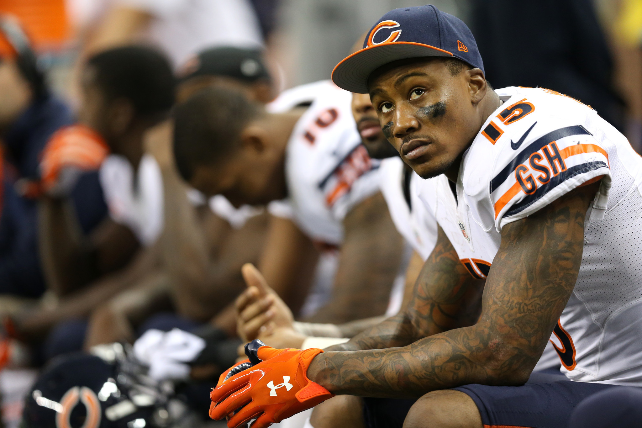 Signs indicate Bears are ready to say goodbye to Brandon Marshall