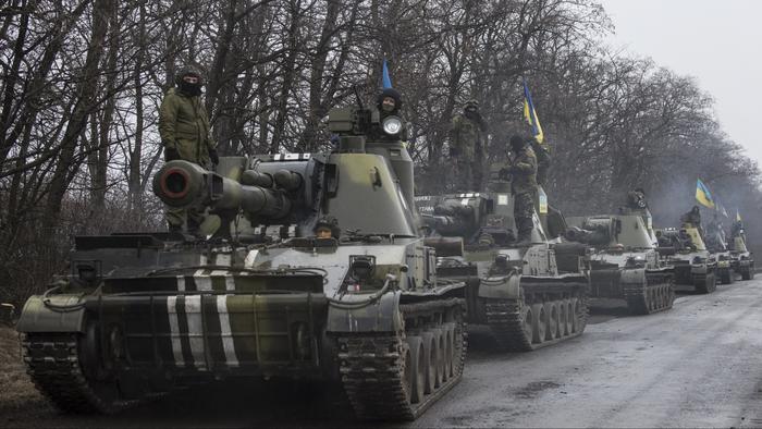 US trainers in Ukraine