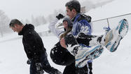 Video: Ultimate Frisbee in the snow