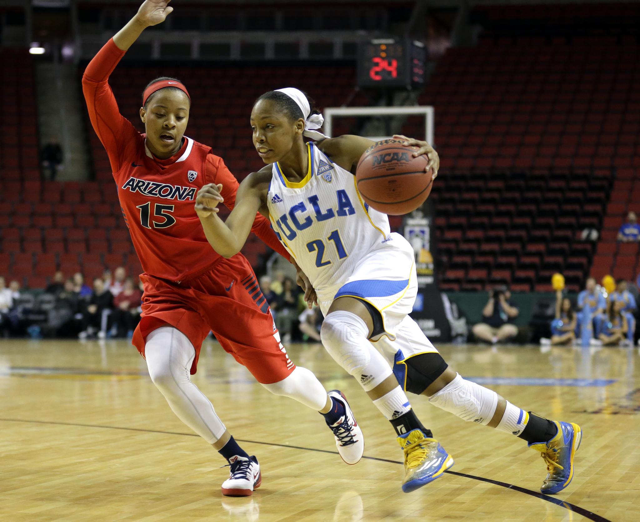 UCLA women advance in Pac-12 tournament with 80-62 win over Arizona