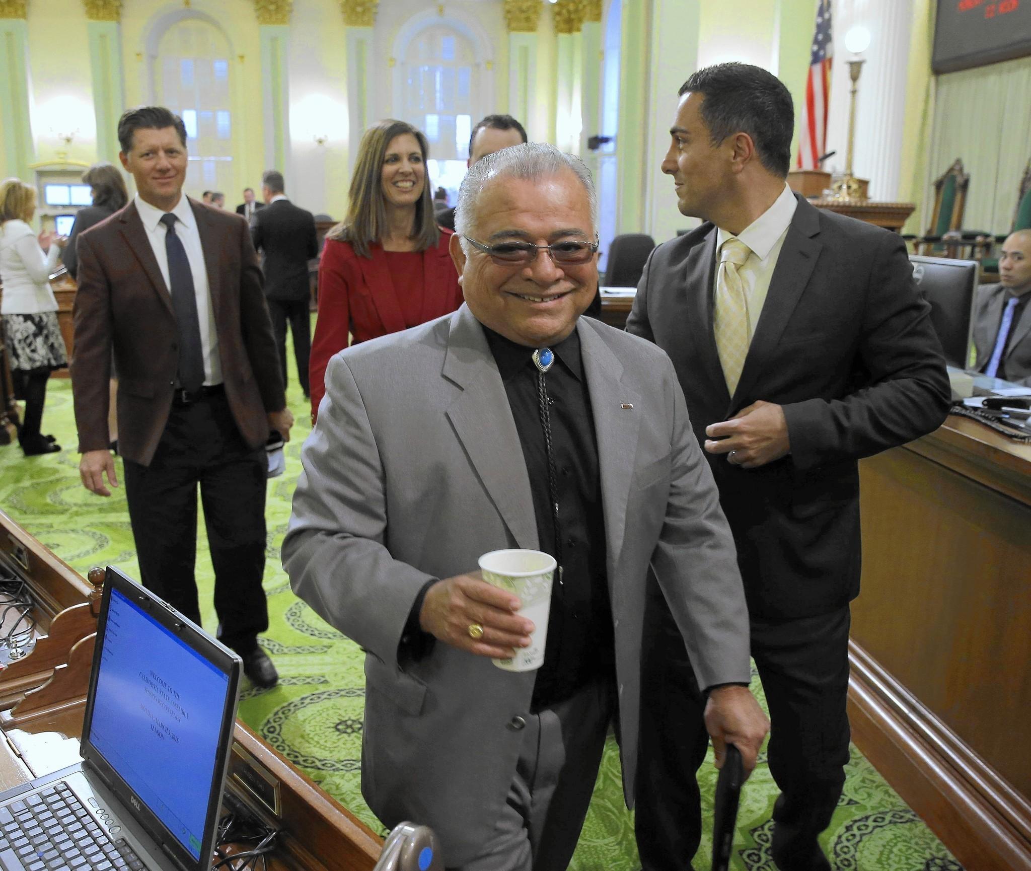 Rocky Chávez cites Marine background as key asset in U.S. Senate race