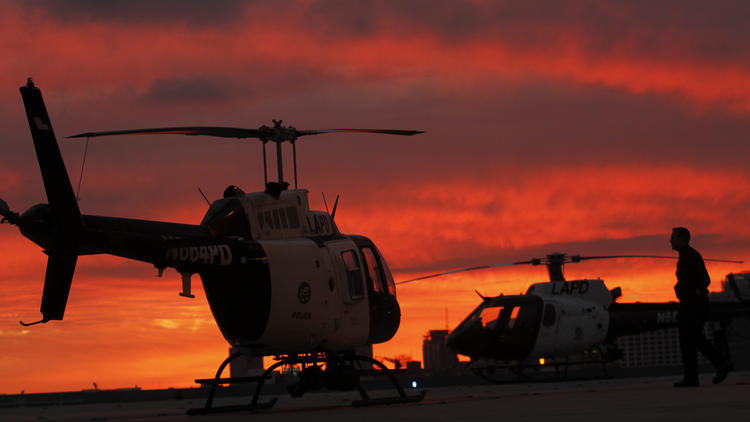 LAPD helicopters