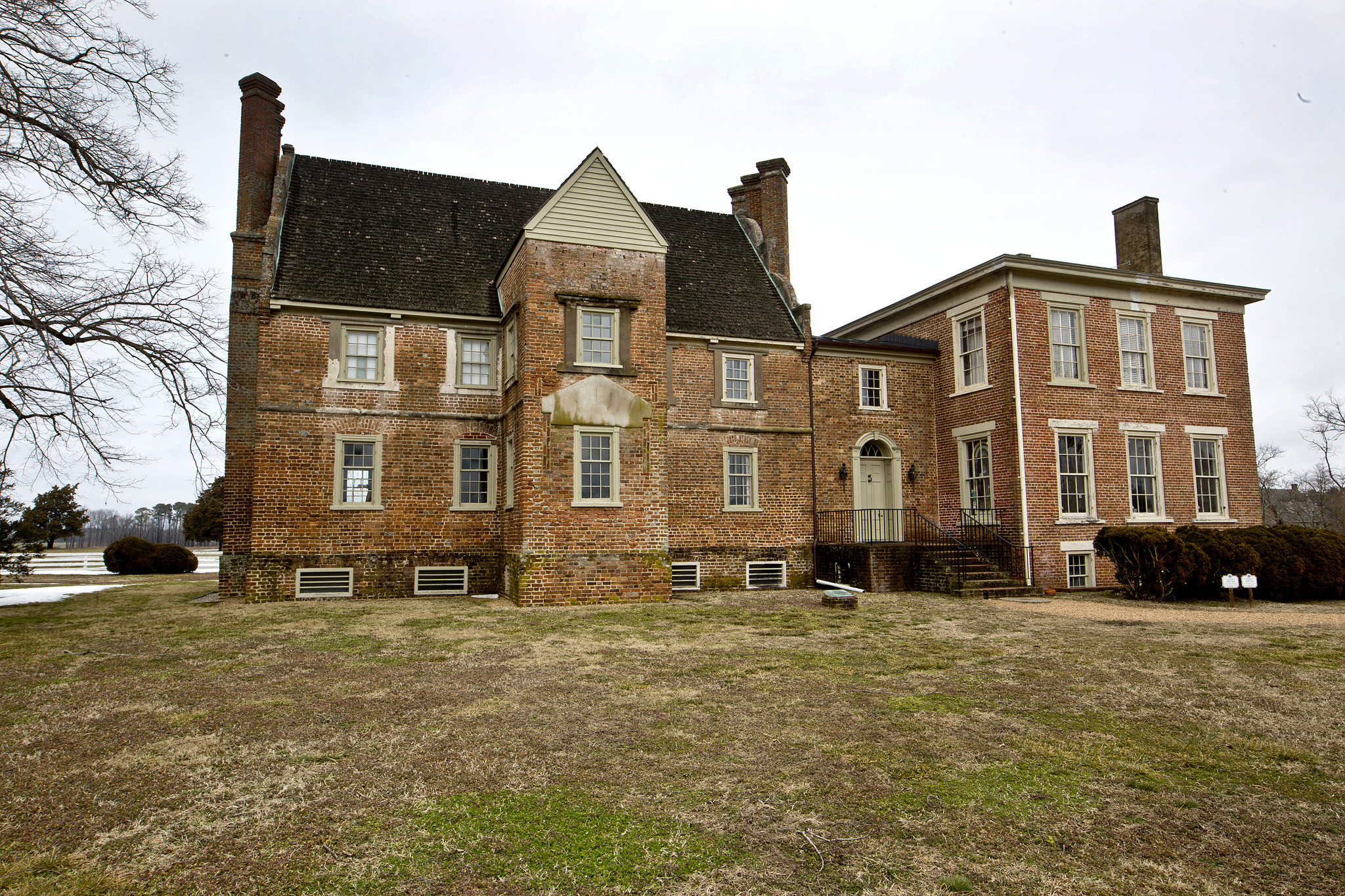 At 350 years old historic bacon 39 s castle is the oldest for American brick and stone