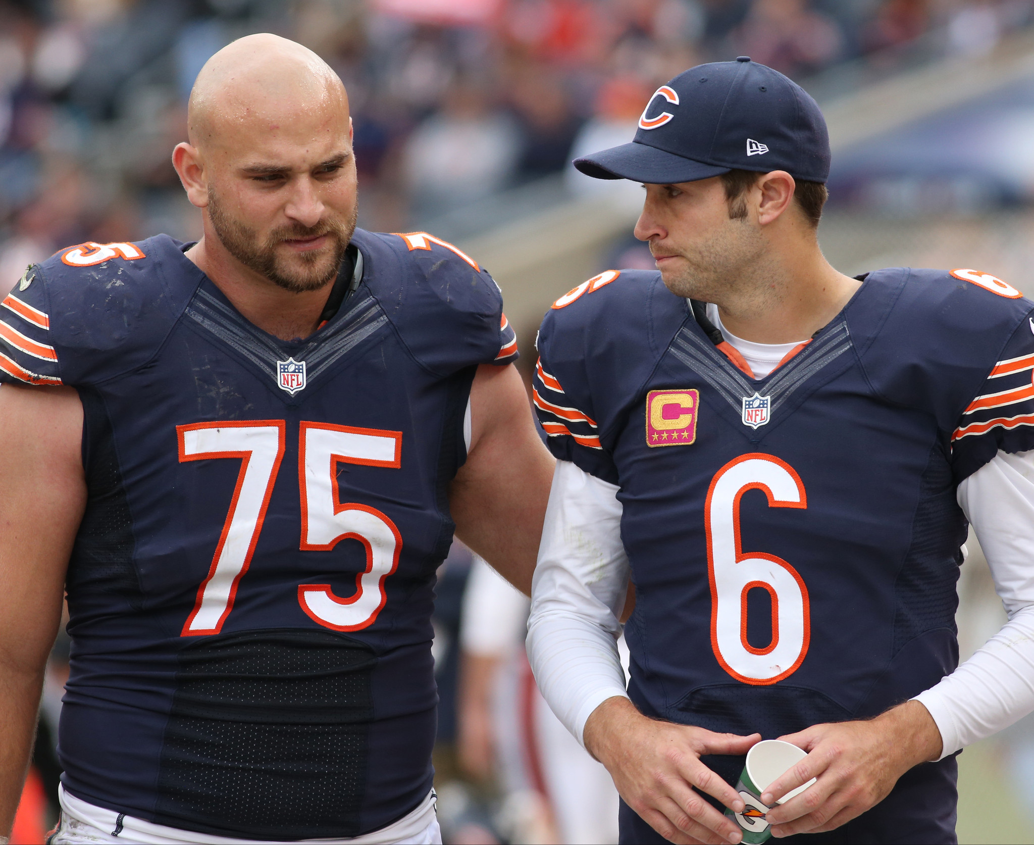 Kyle Long Bears offense all on board with Jay Cutler Chicago