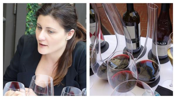Gaia Gaja of Gaja wine estate in Piedmont, Italy