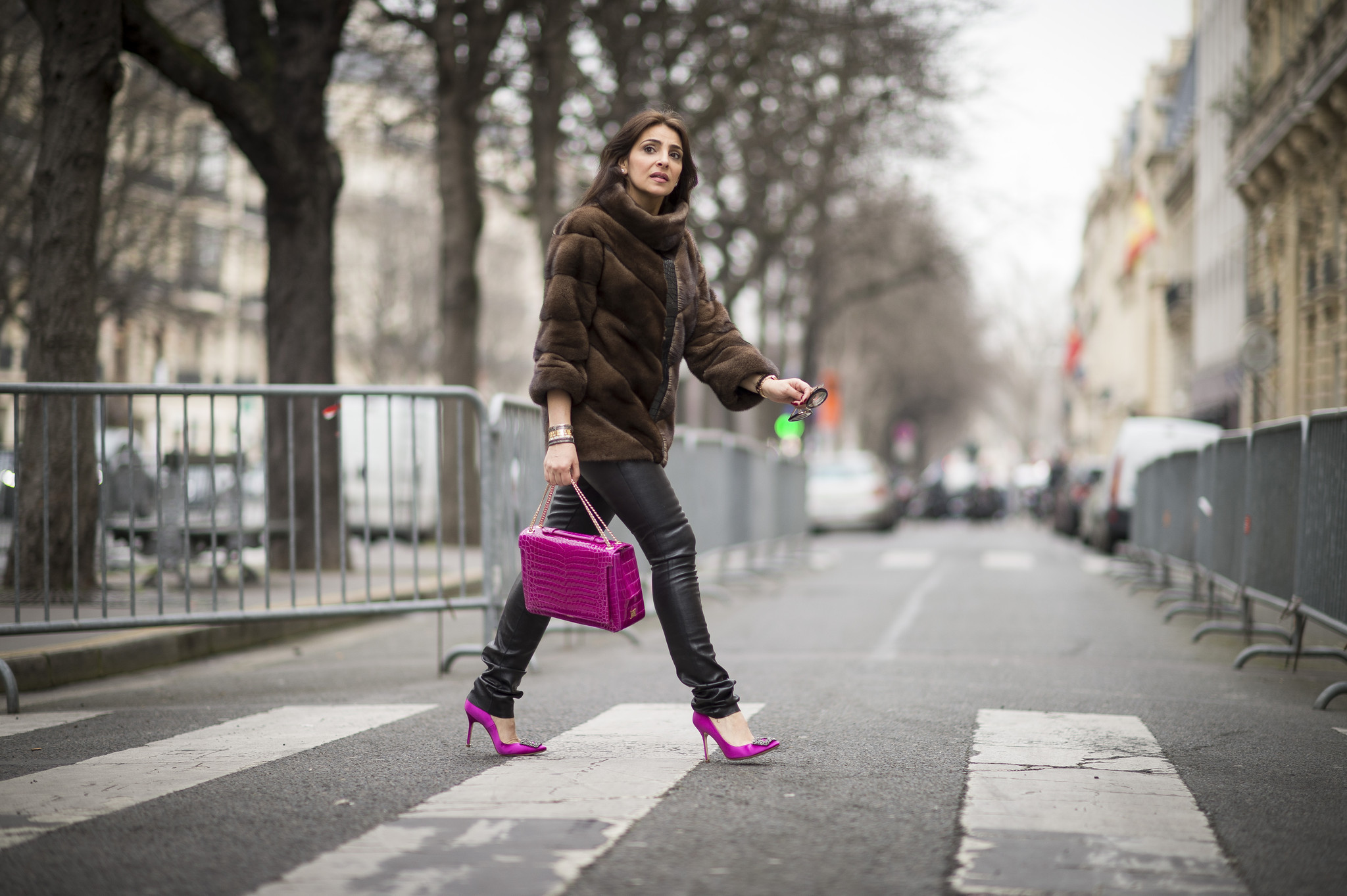 Paris Fashion Week Street Style Capital Gazette