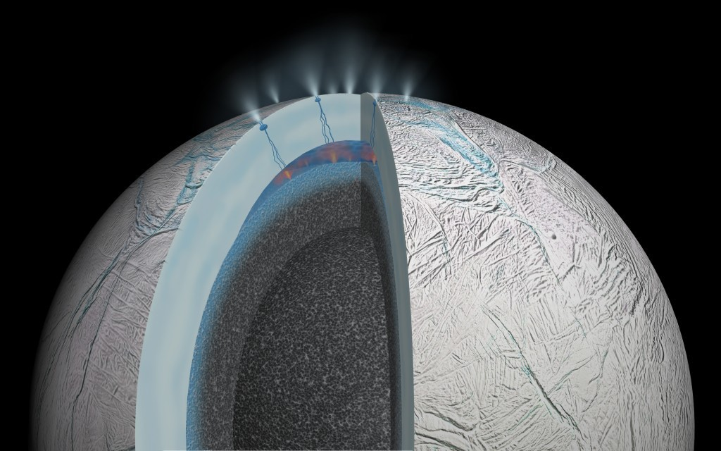 Enceladus may have ocean with the right ingredients for life, scientists say - Los Angeles Times