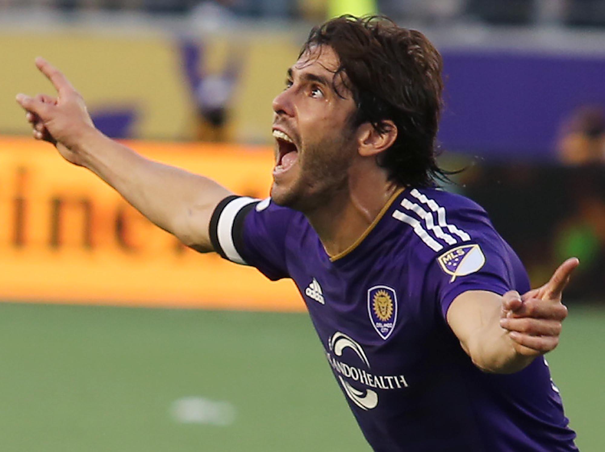 Kaká delivers emotional pregame speech urging Orlando City to play