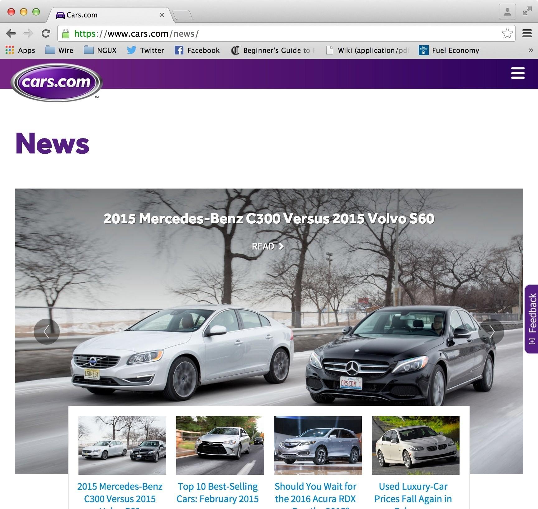 Cars.com unveils new website, better experience - Chicago Tribune