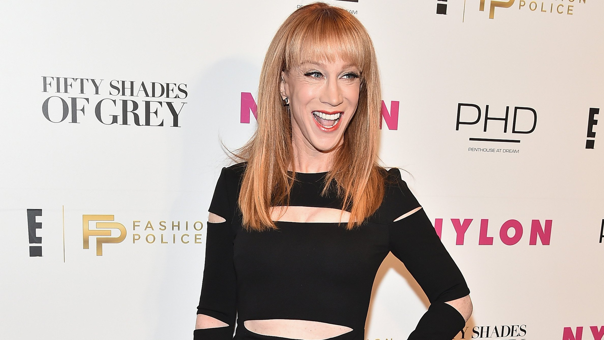 Kathy Griffin Fashion Police Oscars Kathy Griffin on Zendaya