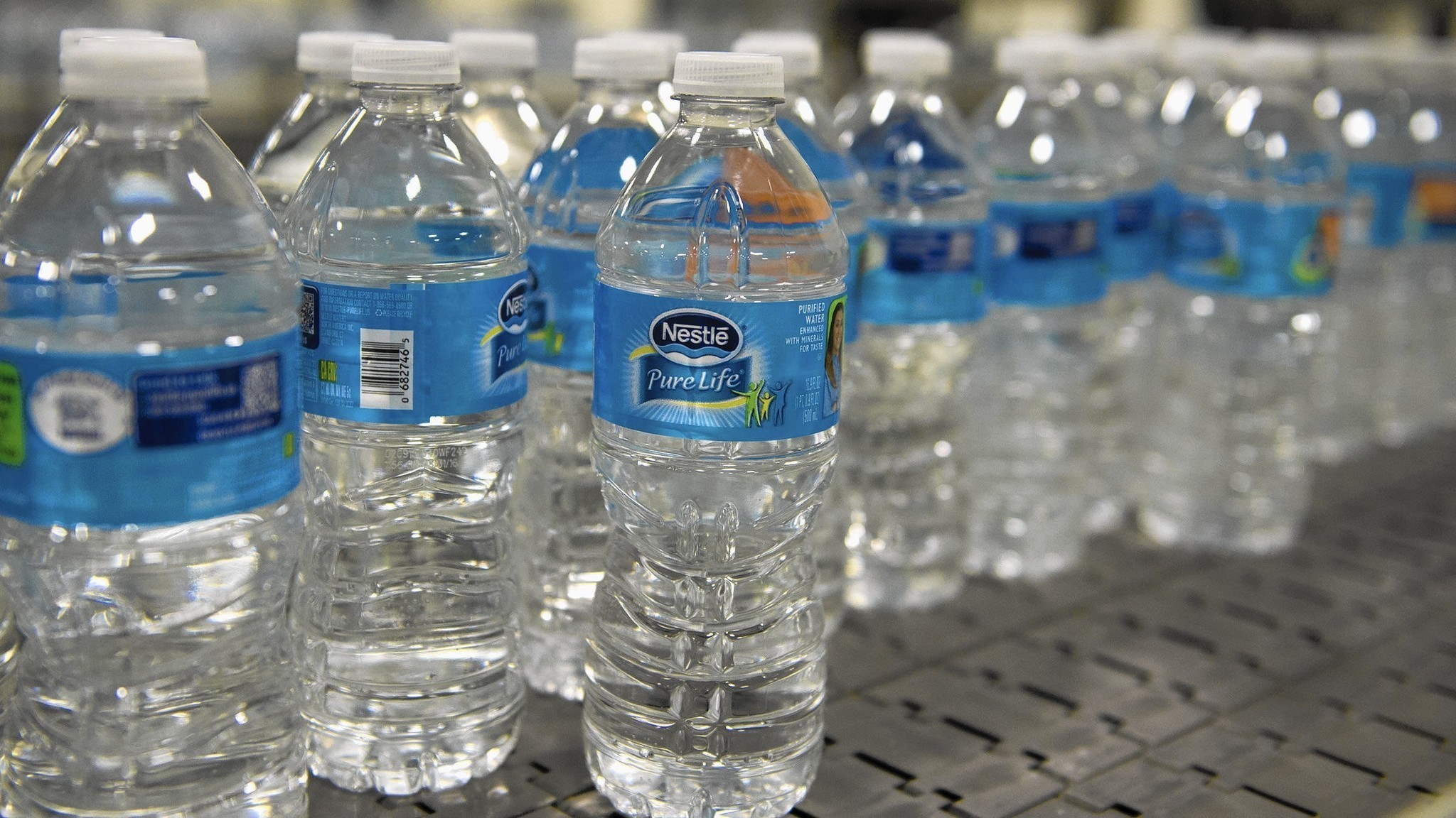 At Nestle Waters bottling plant speed and safety are preached