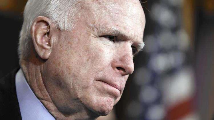 Sen. John McCain (R-Ariz.) (J. Scott Applewhite / Associated Press)
