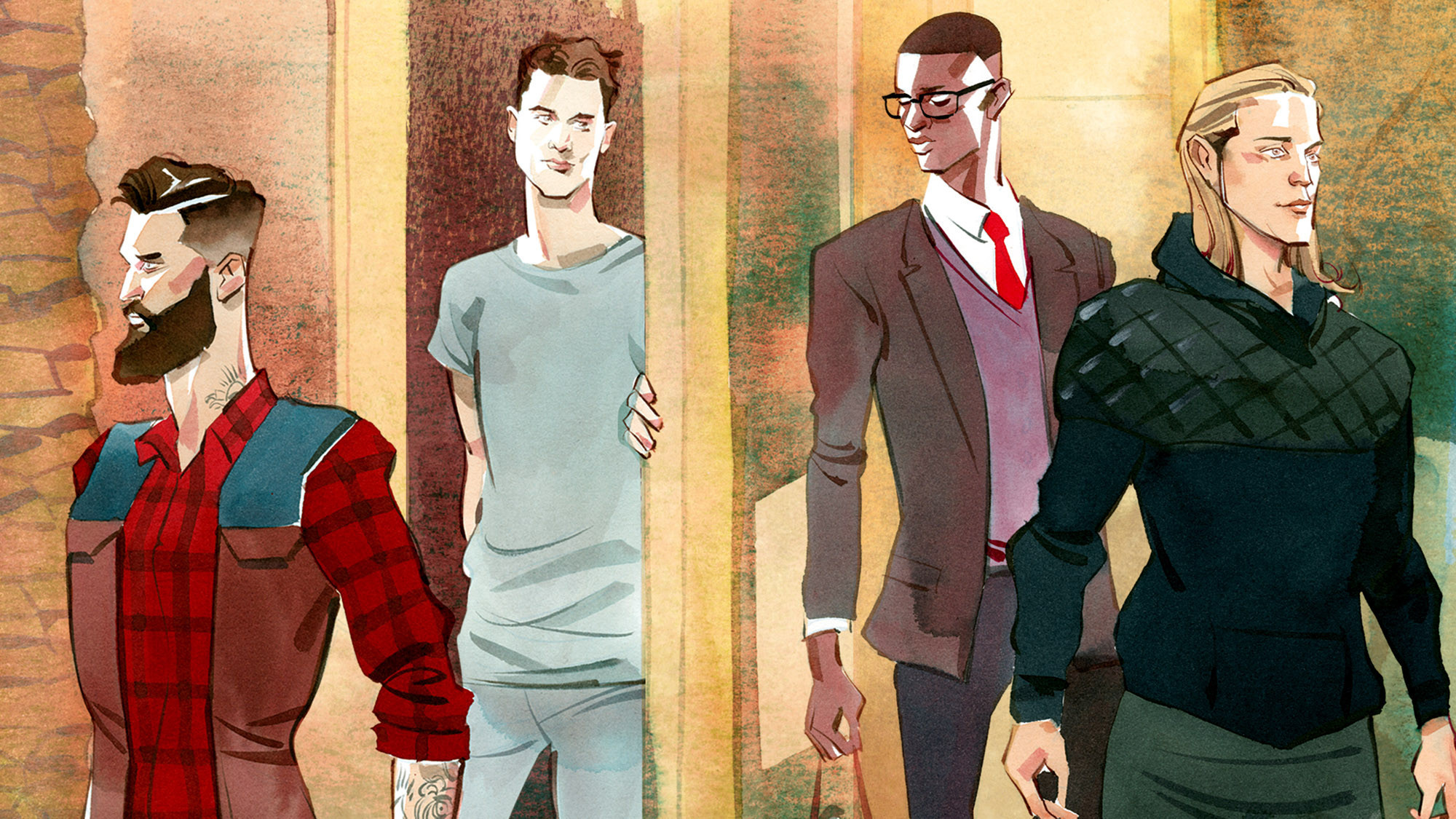 Millennial guys keen on style are reshaping the fashion trade - LA Times