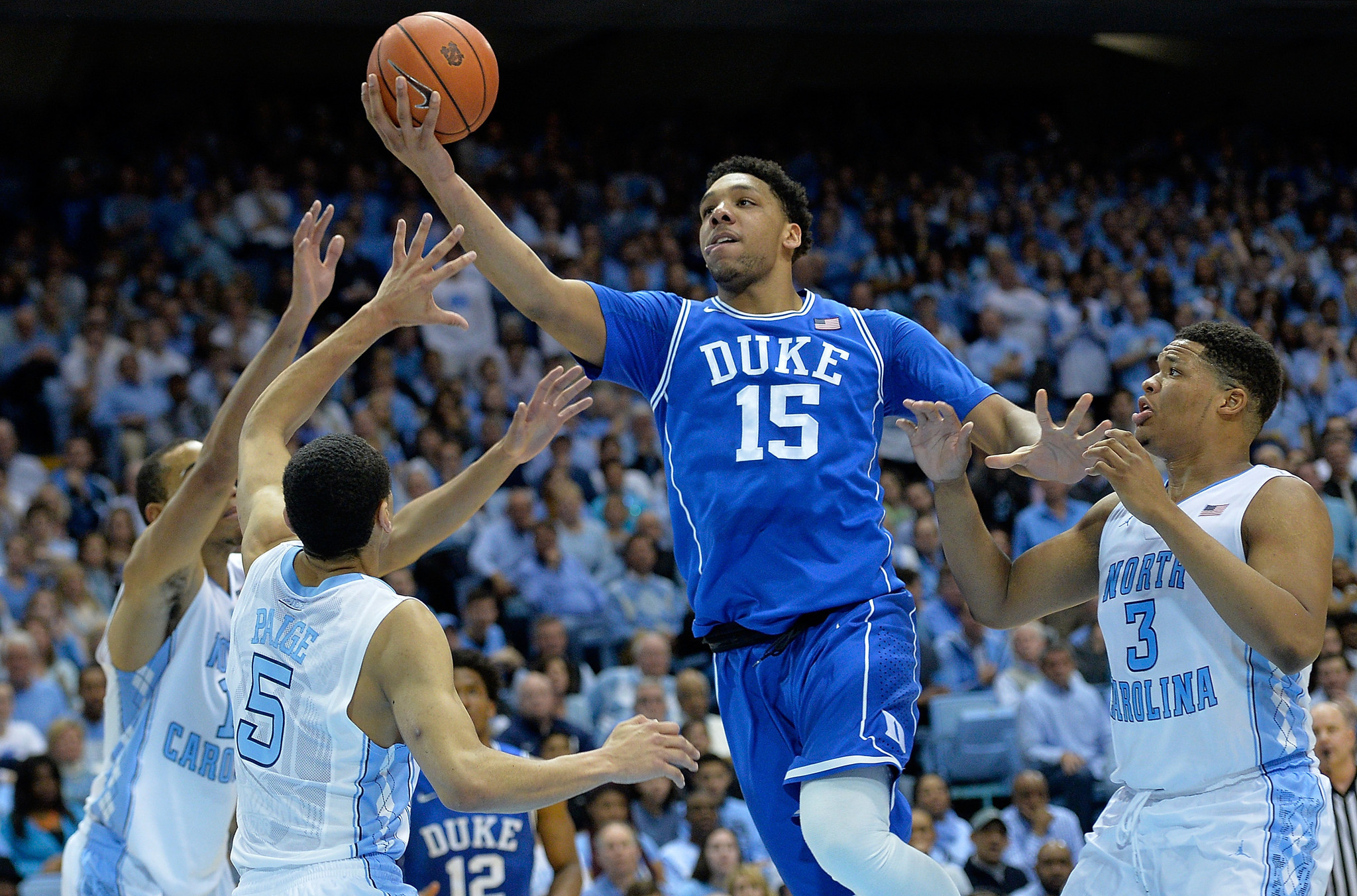 Duke's Jahlil Okafor picked as ACC player, rookie of year