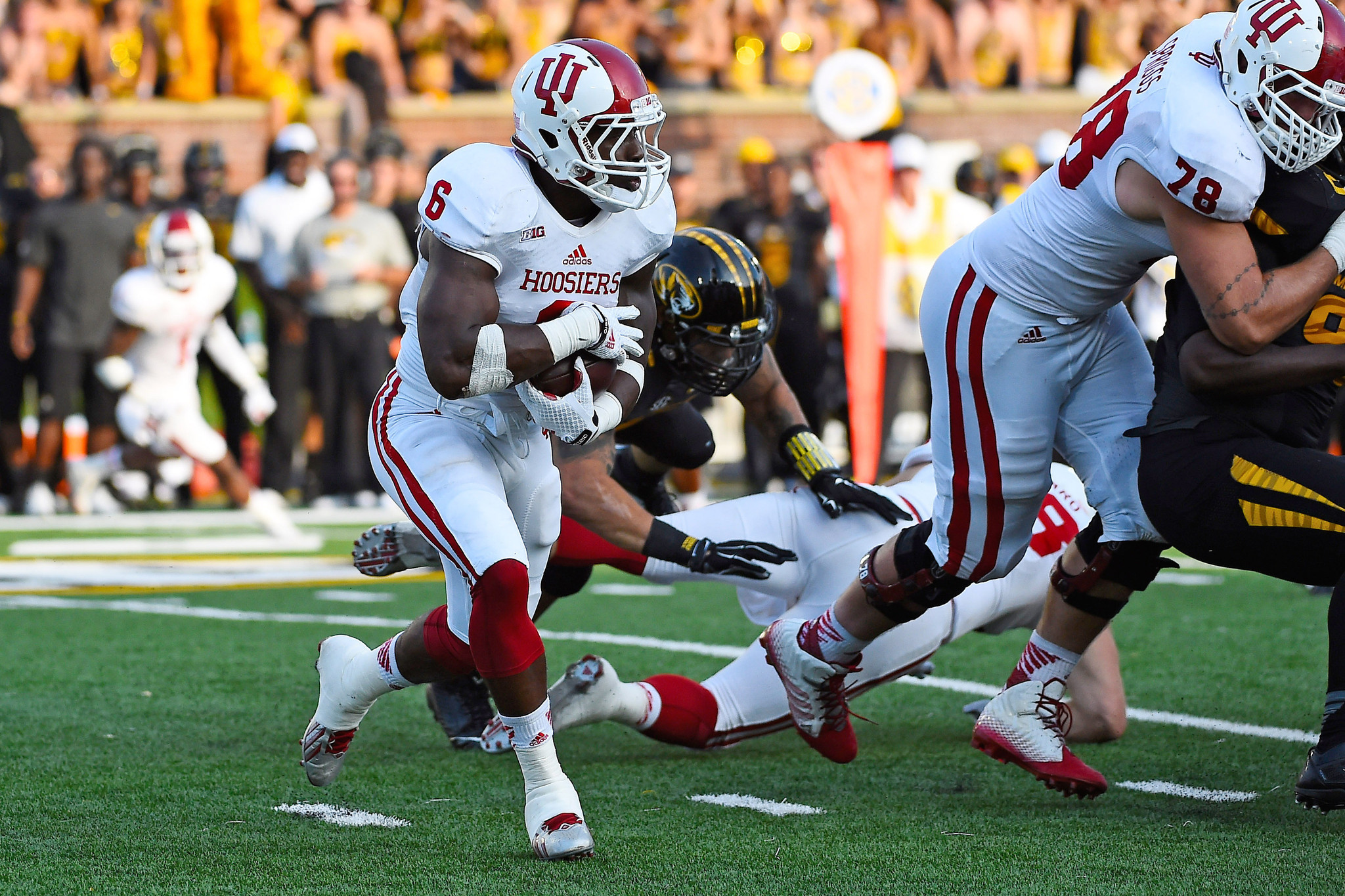Indiana running back Tevin Coleman to visit Ravens Panthers