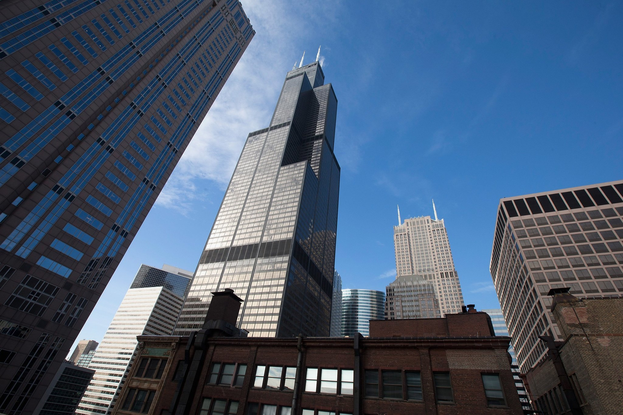 how to draw the willis tower