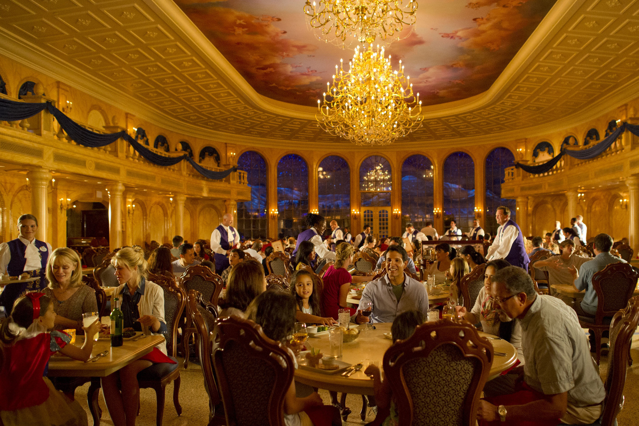 Be our guest will serve breakfast at disney 39 s magic for 360 the colour bar salon