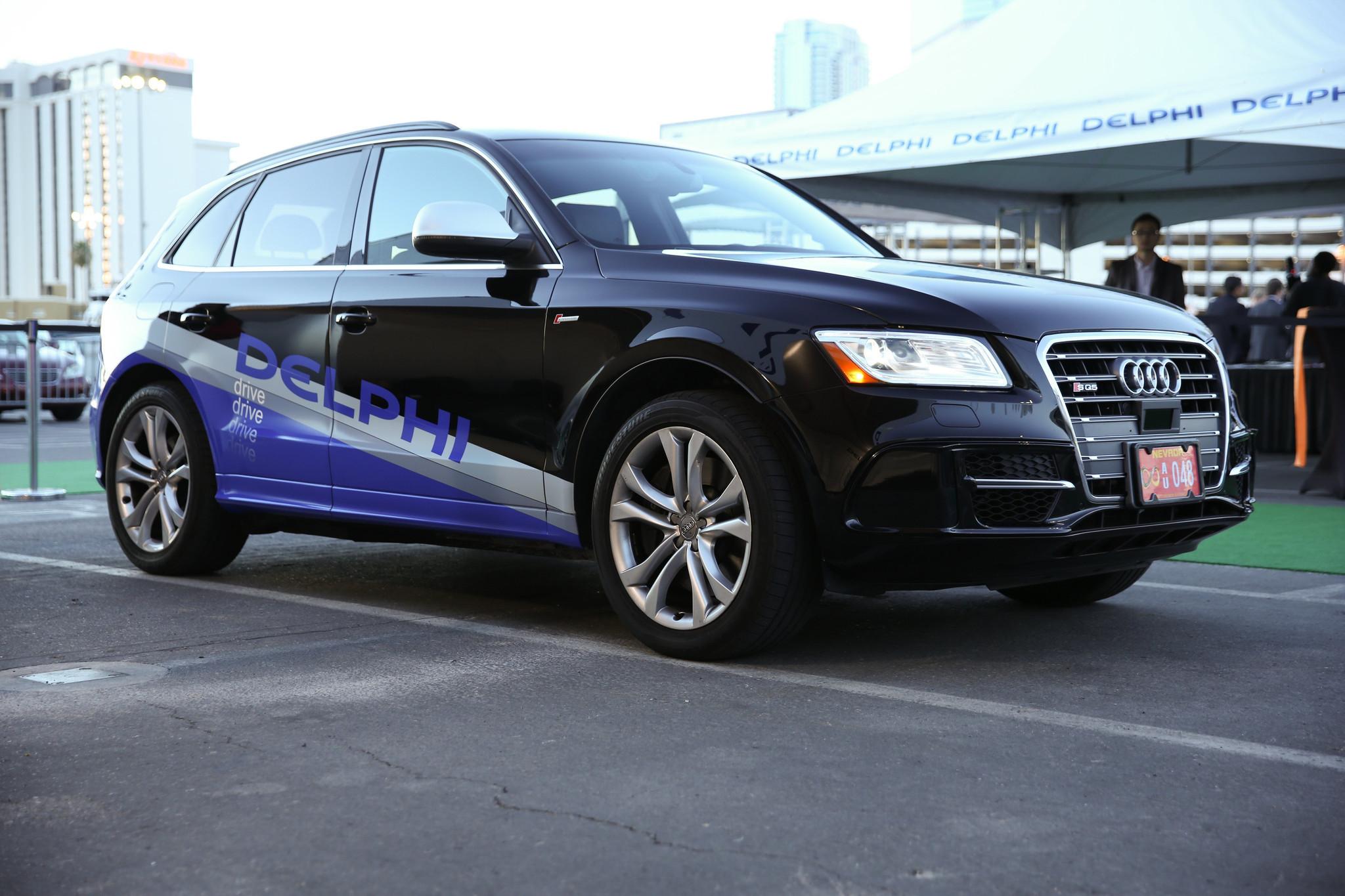 Audi And Delphi Launch First Coasttocoast Driverless Auto - Audi driverless car
