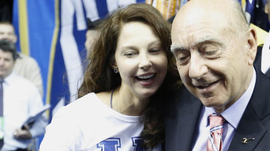 Ashley Judd and dick vitale