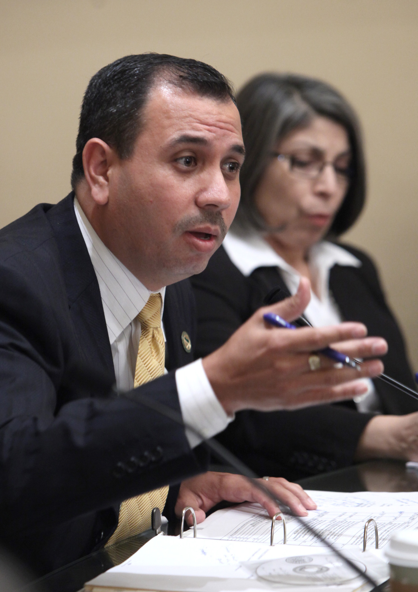 Sen. Tony Mendoza, D-Artesia, wants to expand the Los Angeles County Board of Supervisors from five to seven members. (Rich Pedroncelli / Associated Press)