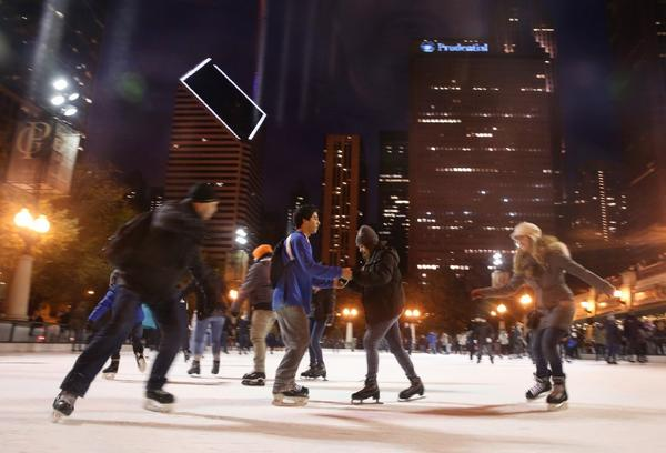 Millennium Park ice rink