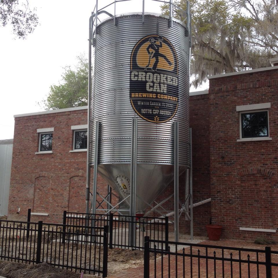 crooked can brewing company opens orlando sentinel