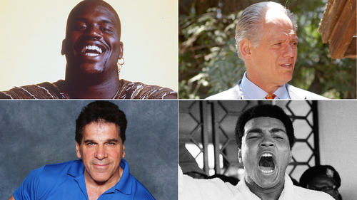 <p>Athletes often have big personalites, and that can translate to screen roles in films and/or television. Here are a few of those who made the transition from the field, court, ring or weightroom to the screen -- and not in a reality show format.</p>
