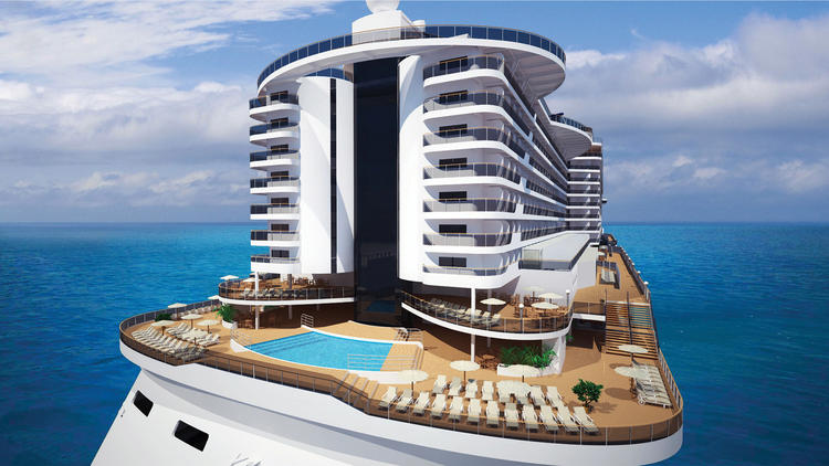 Construction begins on MSC Seaside cruise ship 750x422