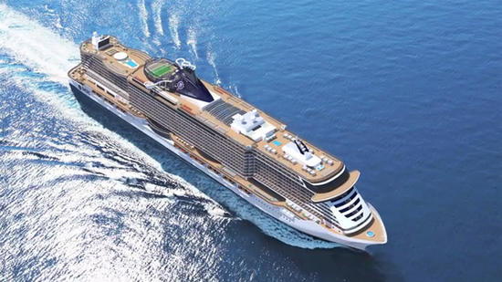 Construction begins on MSC Seaside cruise ship 550x309