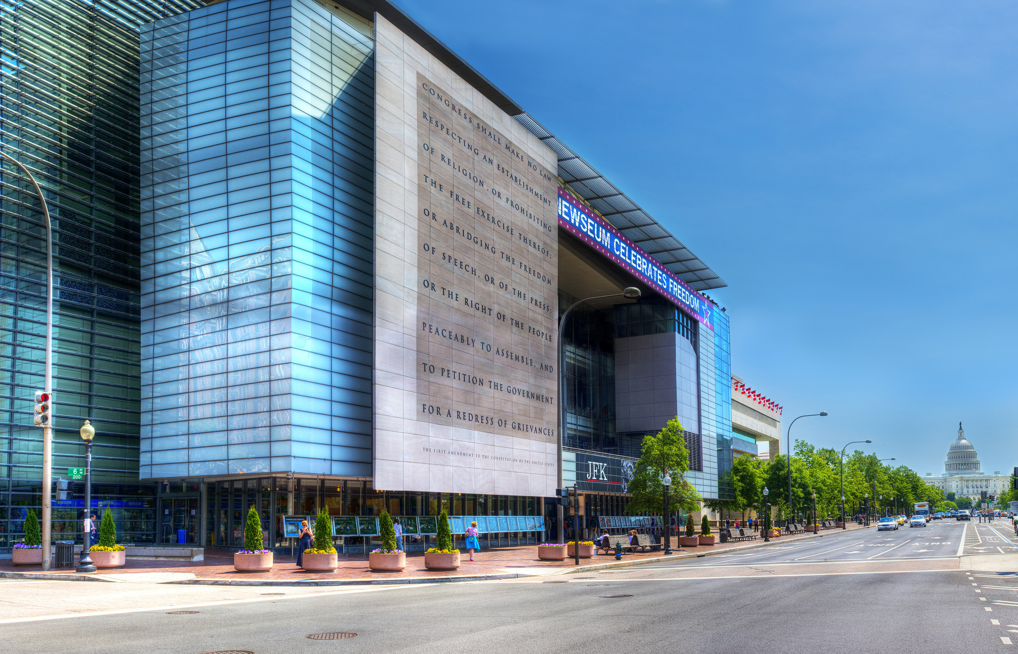 Deal: Free speech, free tickets for kids at Washington's Newseum