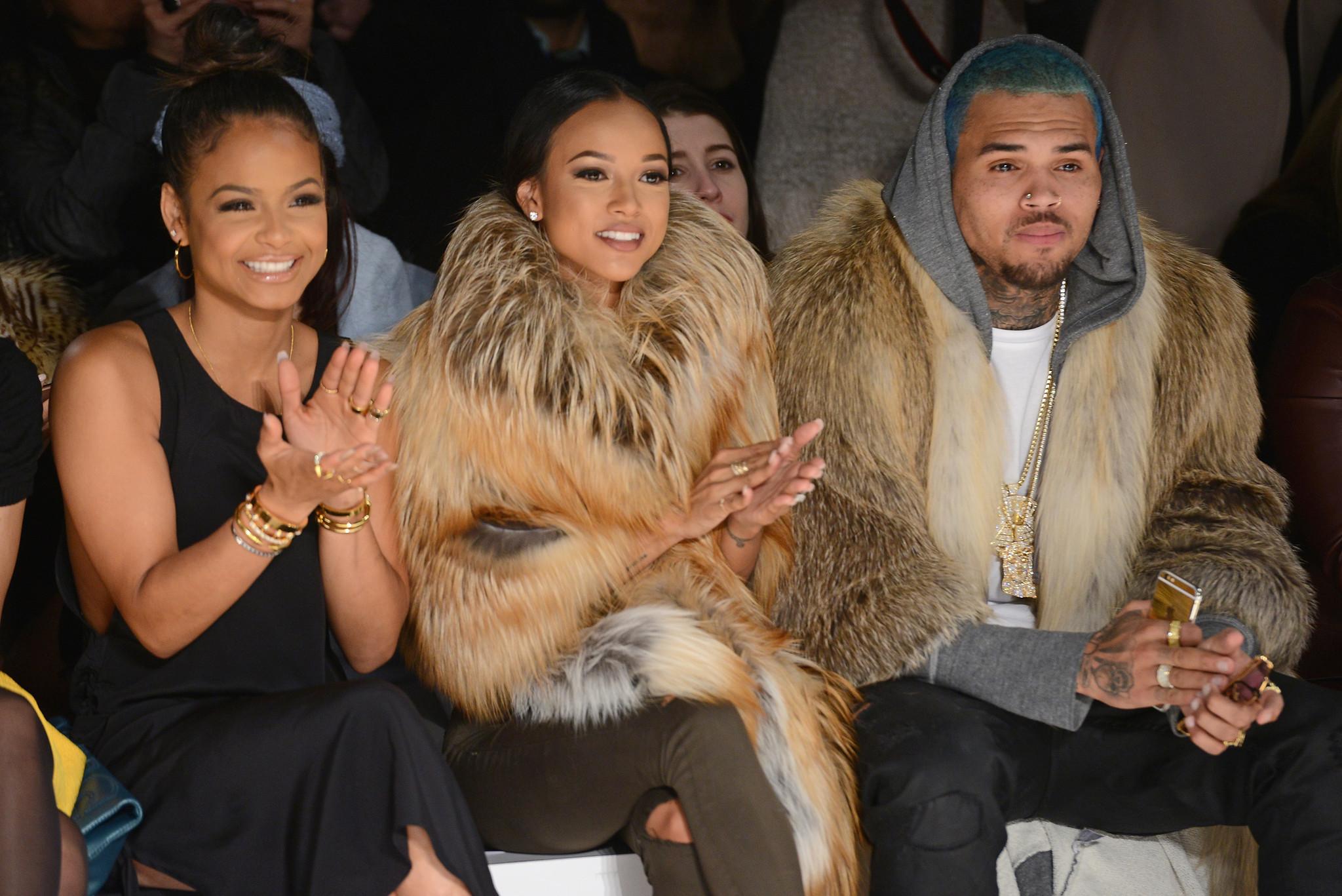 Chris Brown urges Karrueche Tran to keep it classy ...