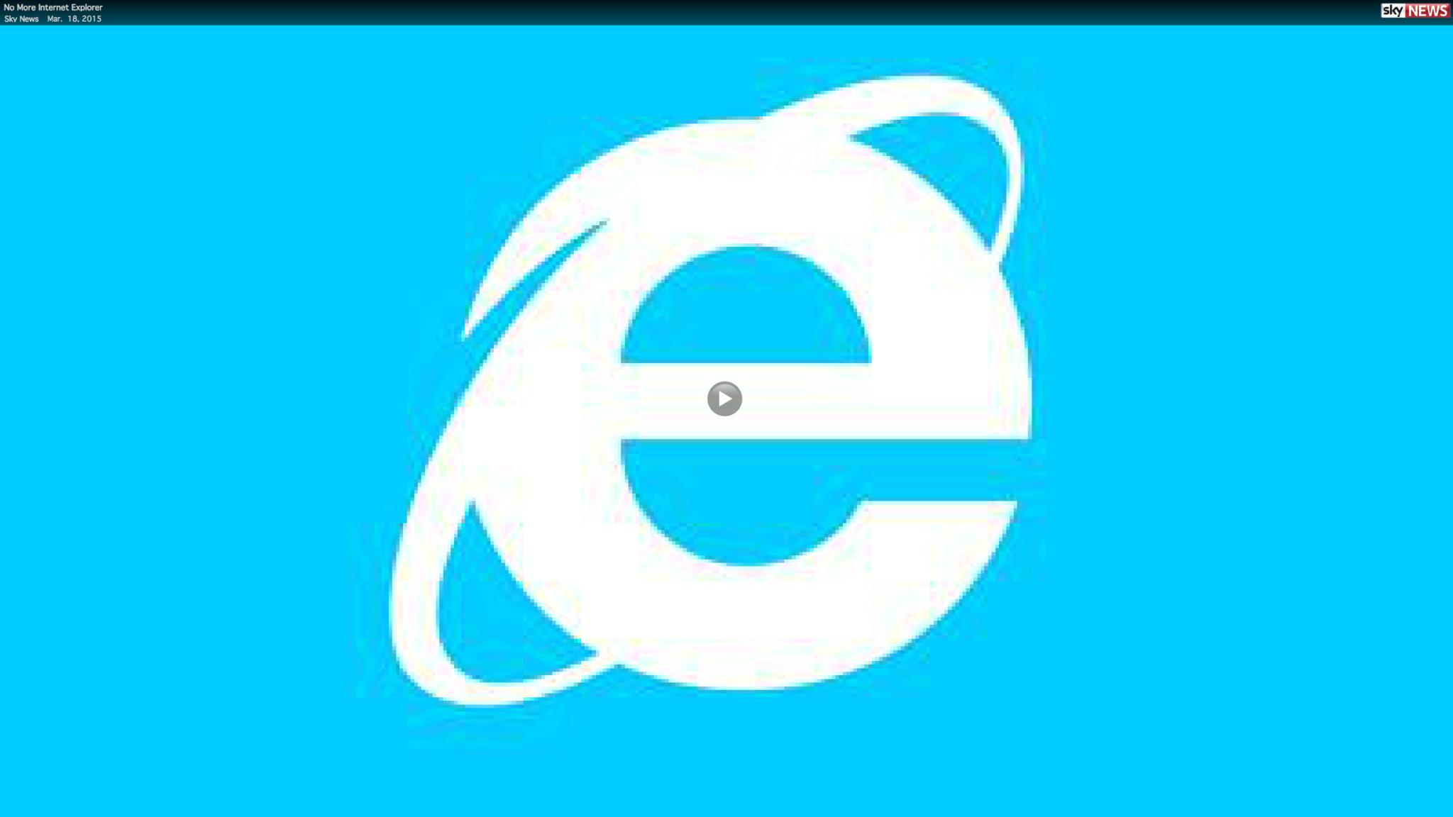 No More Internet Explorer Baltimore Sun