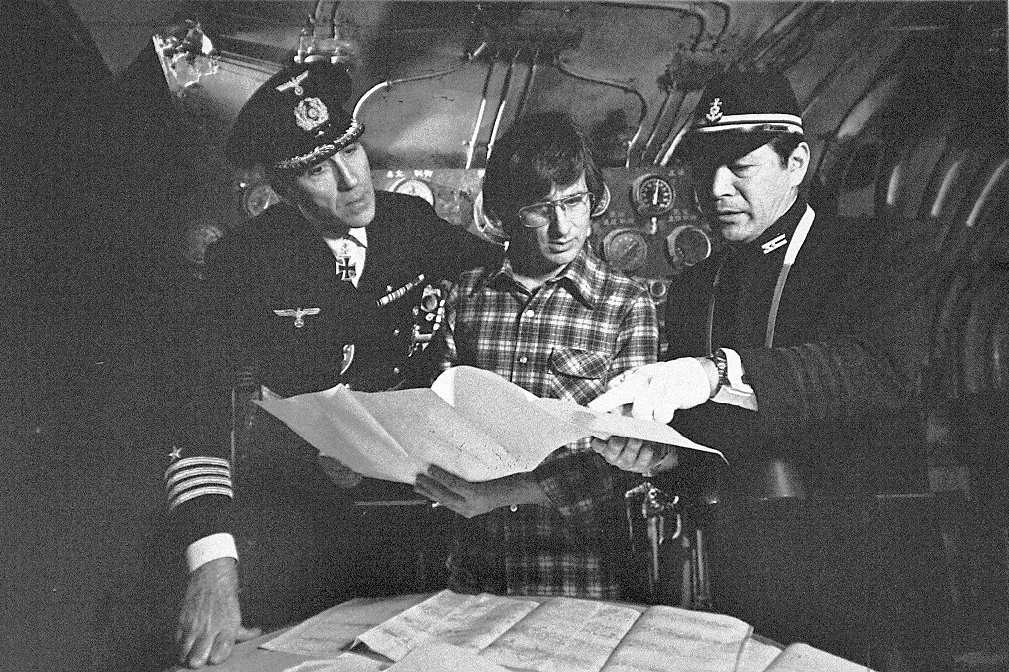 Steven Spielberg On Set Of Et