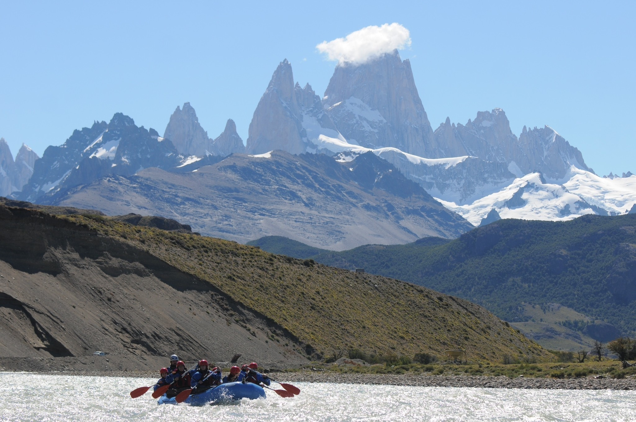 Now you can go whitewater rafting in Argentina's Los Glaciares park